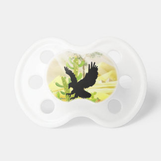 Solid landing and success eagle baby pacifier
