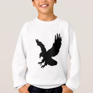 Solid landing and success eagle sweatshirt