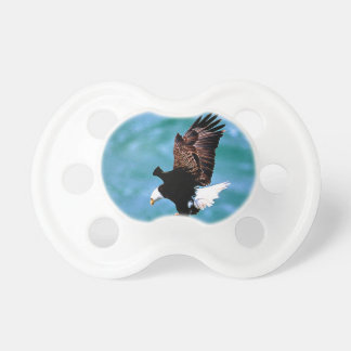 Solid Landing bald eagle bird predator Baby Pacifiers