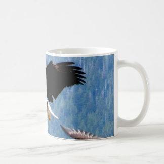 Solid landing Bald Eagle Mug