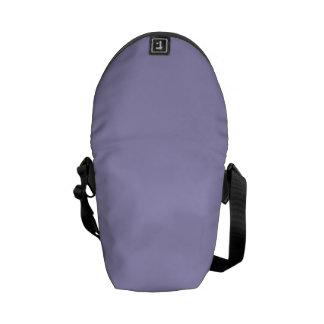 Solid Lavender Blue Courier Bag