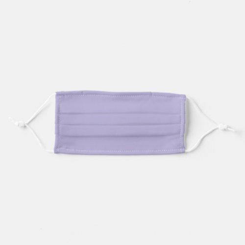 Solid Lavender Purple Color Cloth Face Mask