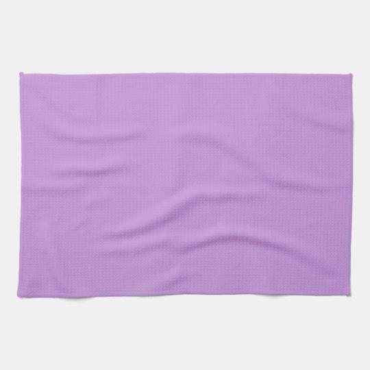 Solid Lavender Purple Kitchen Towel