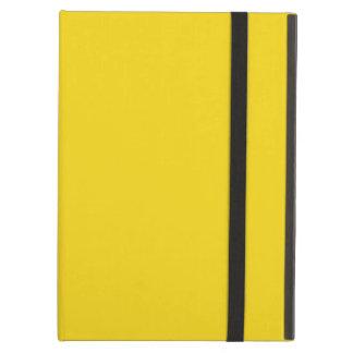 Solid Lemon Yellow iPad Folio Case