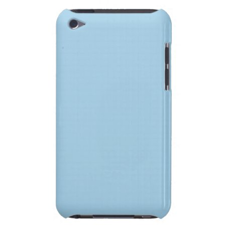 Solid Light Cornflower Blue iPod Touch Covers