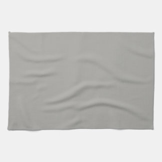Solid Light Gray Kitchen Towel