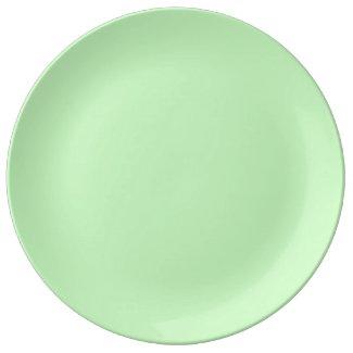 Solid Light Green Dinner Plate