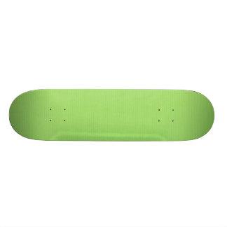 SOLID LIGHT HONEYDEW GREEN BACKGROUND TEMPLATE TEX SKATEBOARD DECK