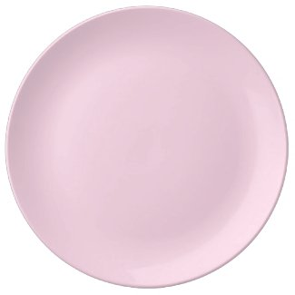 Solid Light Pink Dinner Plate