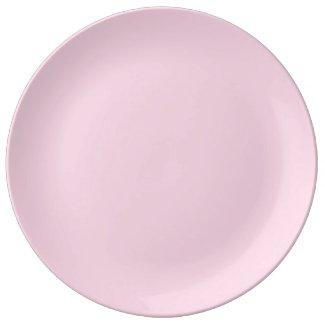 Solid Light Pink Dinner Plate