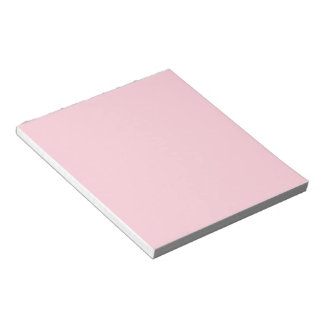 Solid Light Pink Notepad