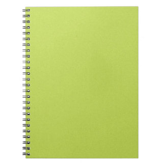 solid-lime BRIGHT LIGHT LIME GREEN YELLOWISH BACKG Notebooks