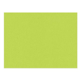 solid-lime BRIGHT LIGHT LIME GREEN YELLOWISH BACKG Postcard