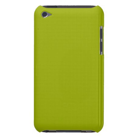 Solid Limeade Green iPod Case-Mate Case