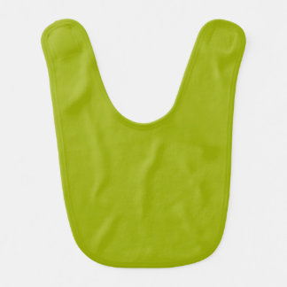 Solid Limeade Green Baby Bib