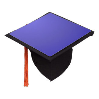 Solid Lotus Blue Graduation Cap Topper