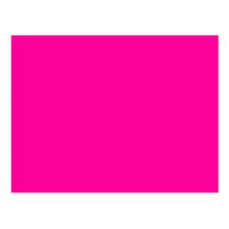 Solid Magenta Background Web Color FF0099 Post Cards