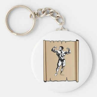 solid male keychain