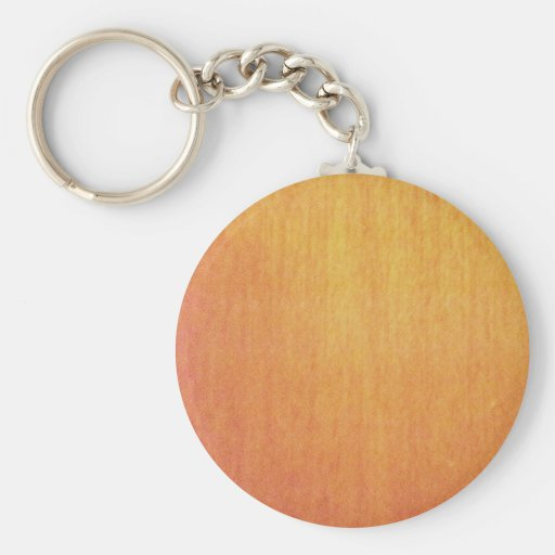 Solid Maple Wood Keychain