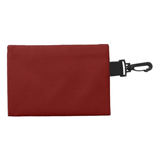 Solid Maroon Red Wristlets