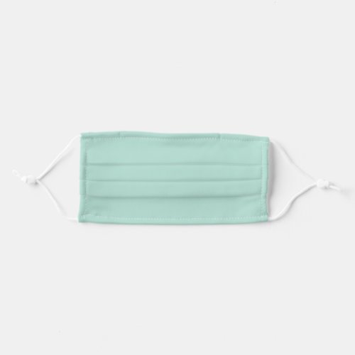 Solid Mint Green Color Cloth Face Mask