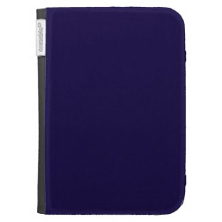 Solid Navy Blue Kindle Case