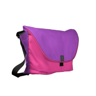 Solid Orchid Courier Bags