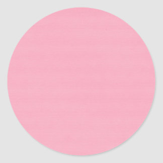 solid-pink4 SOLID COTTON CANDY PINK BACKGROUND TEM Classic Round Sticker