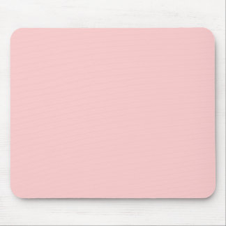 Solid Pink Background Web Color FFCCCC Mouse Pad