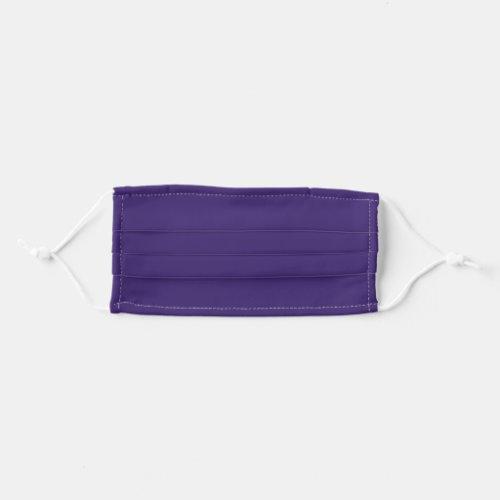 Solid Plum Purple Color Cloth Face Mask