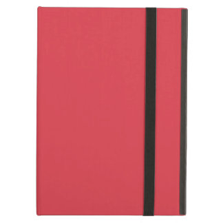 Solid Poppy Red Cover For iPad Air