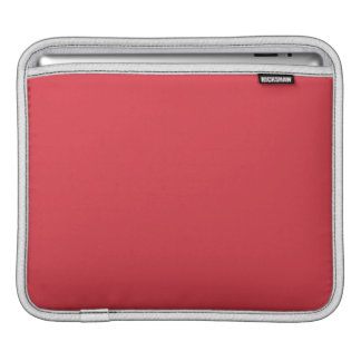 Solid Poppy Red iPad Sleeve