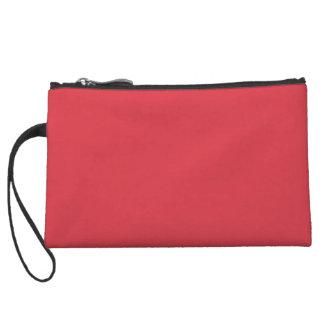 Solid Poppy Red Wristlet Wallet