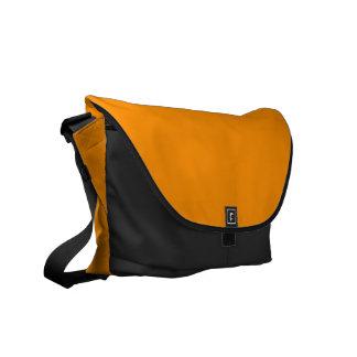 Solid Princeton Orange Messenger Bag