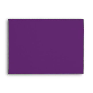 Solid Purple Envelope size A7