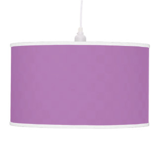 Solid Purple Pendant Light Hanging Lamp