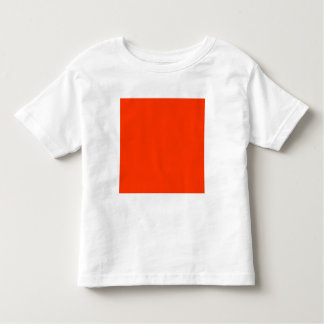 Solid Red Background Web Color FF3300 Shirt