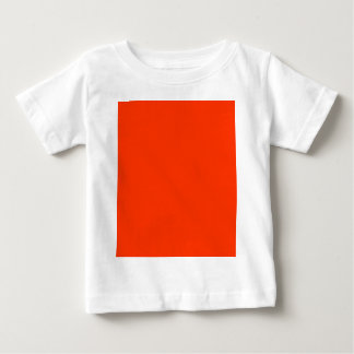 Solid Red Background Web Color FF3300 T Shirts