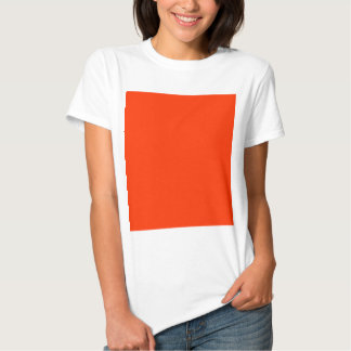 Solid Red Background Web Color FF3300 T-shirts