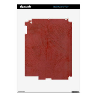 Solid Red Skin For The iPad 2