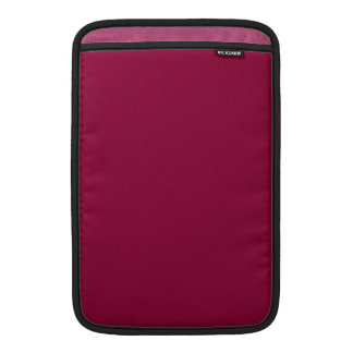 Solid Red Wine MacBook Air Sleeve