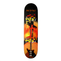 SOLID ROCK FAITH SKATEBOARD DECK