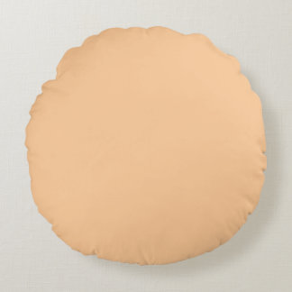 solid rose pink peach flesh  pillow plain color