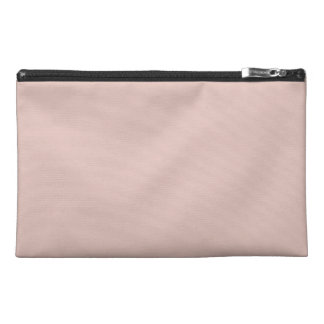 Solid Rose Smoke Pink Travel Accessories Bag