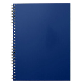 Solid Royal Blue Notepad Notebook