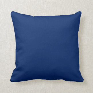 Solid Royal Blue Throw Pillow