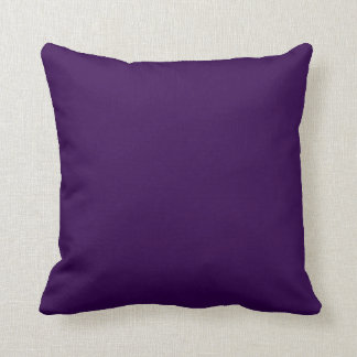 Solid Royal Purple Pop of Color Pillows