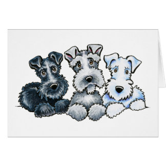 Solid Schnauzers Card