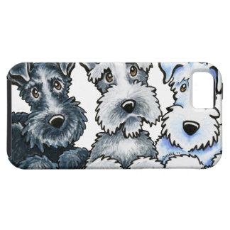 Solid Schnauzers iPhone 5 Covers