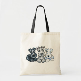 Solid Schnauzers Tote Bag